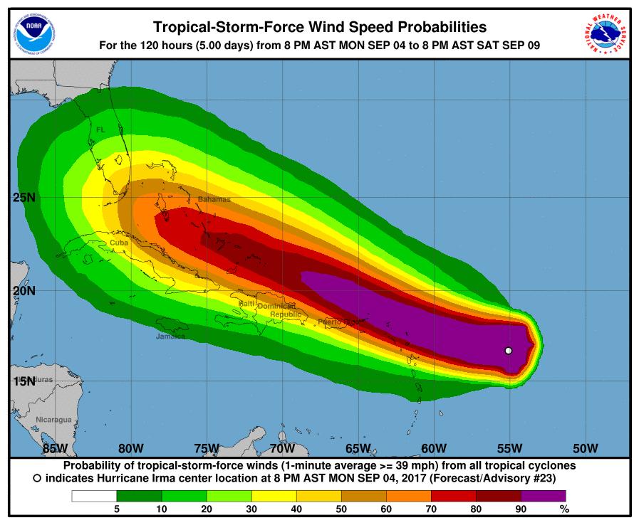 Hurricane Irma NOAA