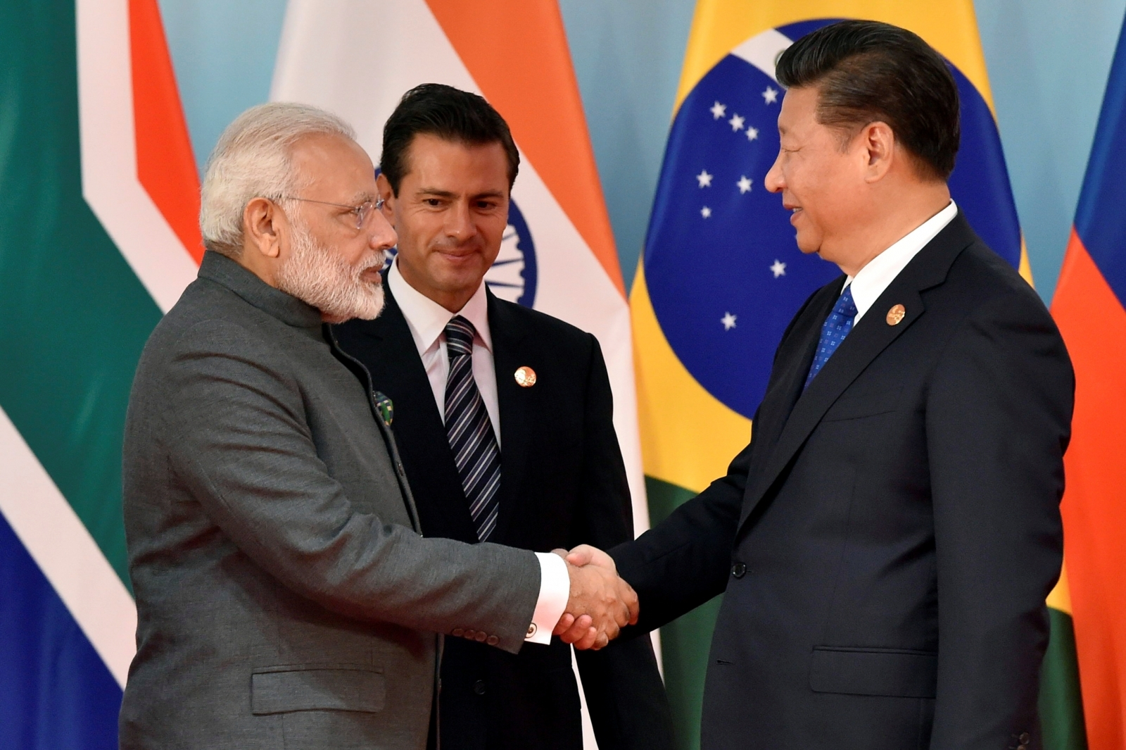 Brics summit: Modi, Xi Jinping meet for first time since Doklam standoff