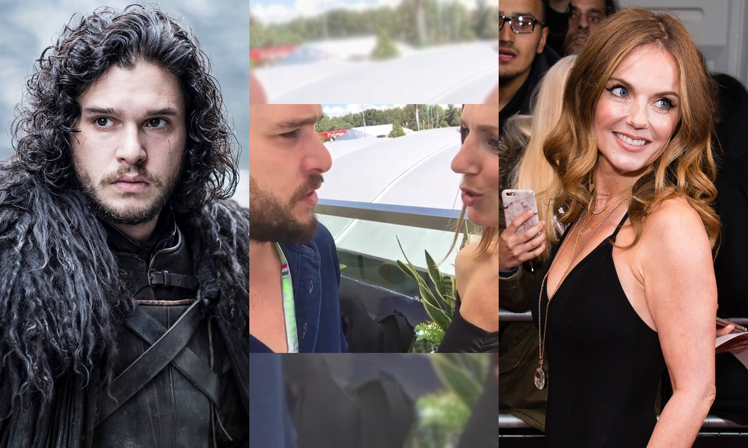 Kit Harington Schooled A Spice Girl