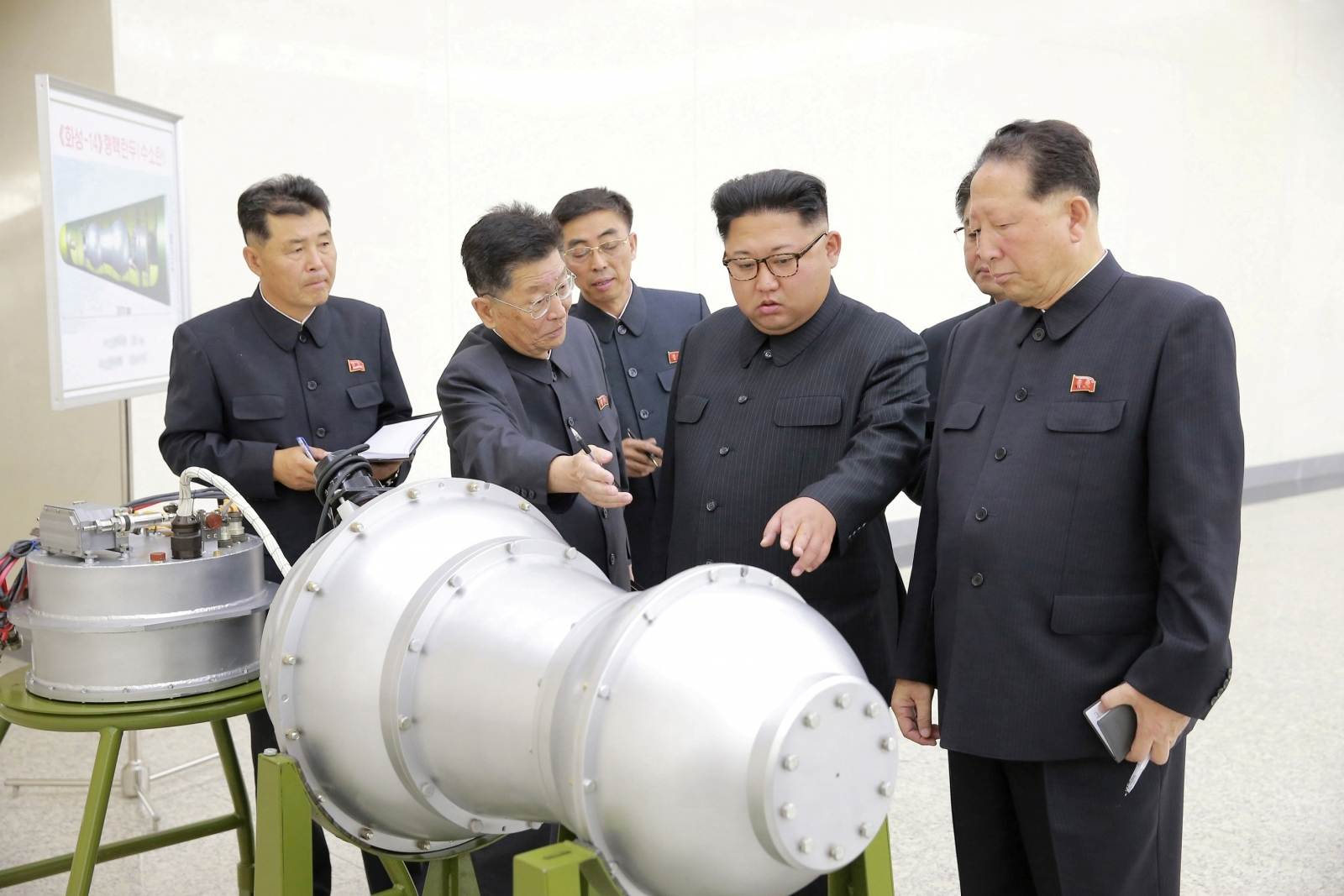 North Korea Nuclear Weapon Kim Jong-un