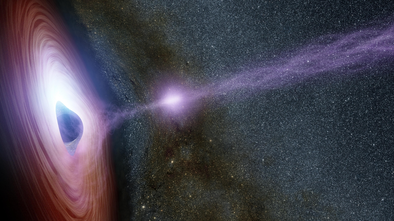 Scientists Discovered Black Hole: 100000 Times More Massive Than the Sun