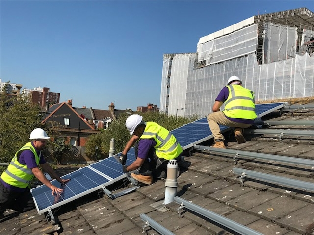 Solarplicity UK panels