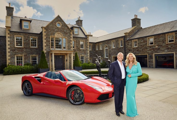Baroness Mone and Doug Barrowman of KnoxGroup