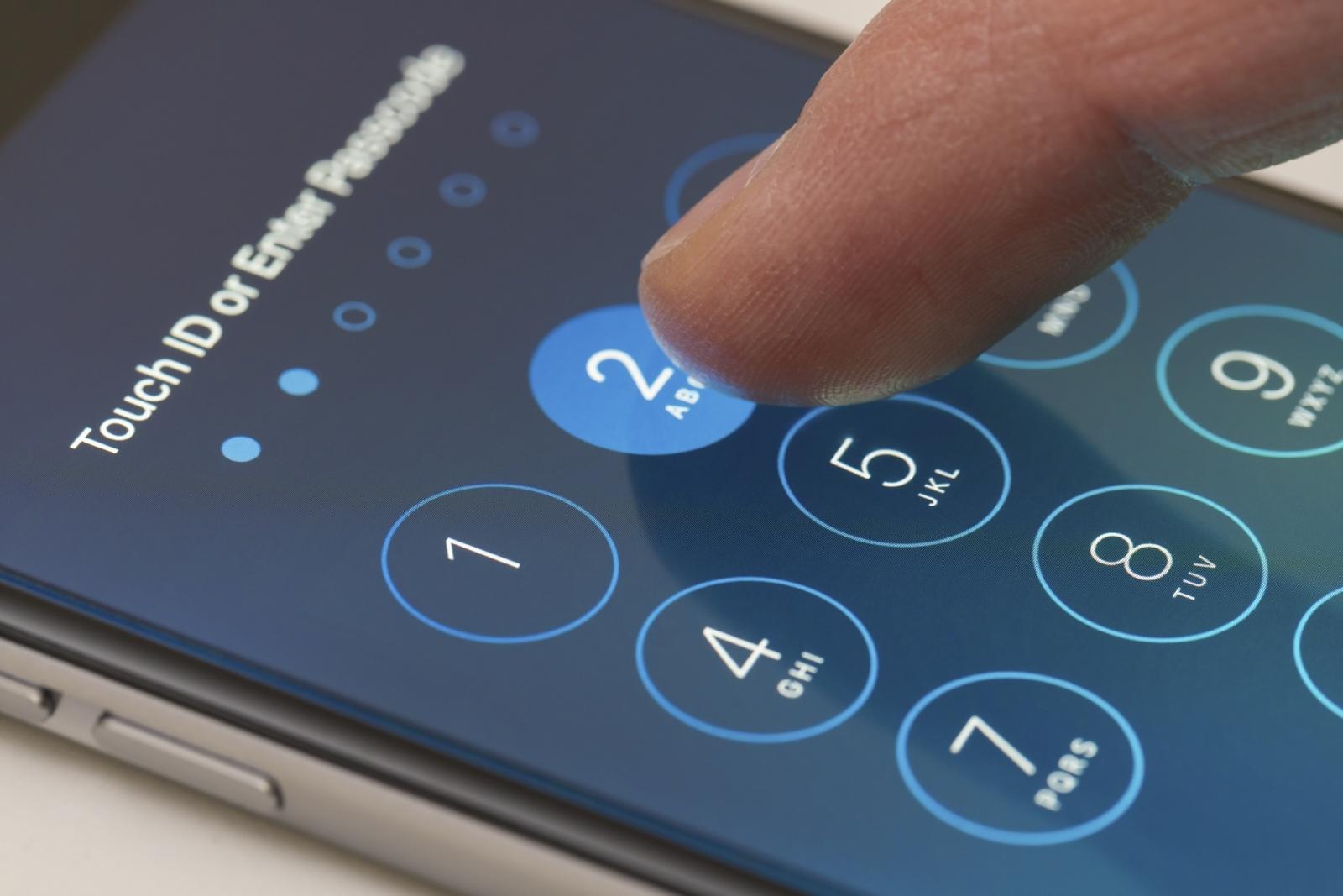 Phone passwords