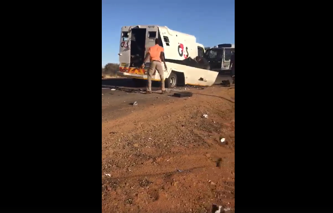 cash-in-transit van