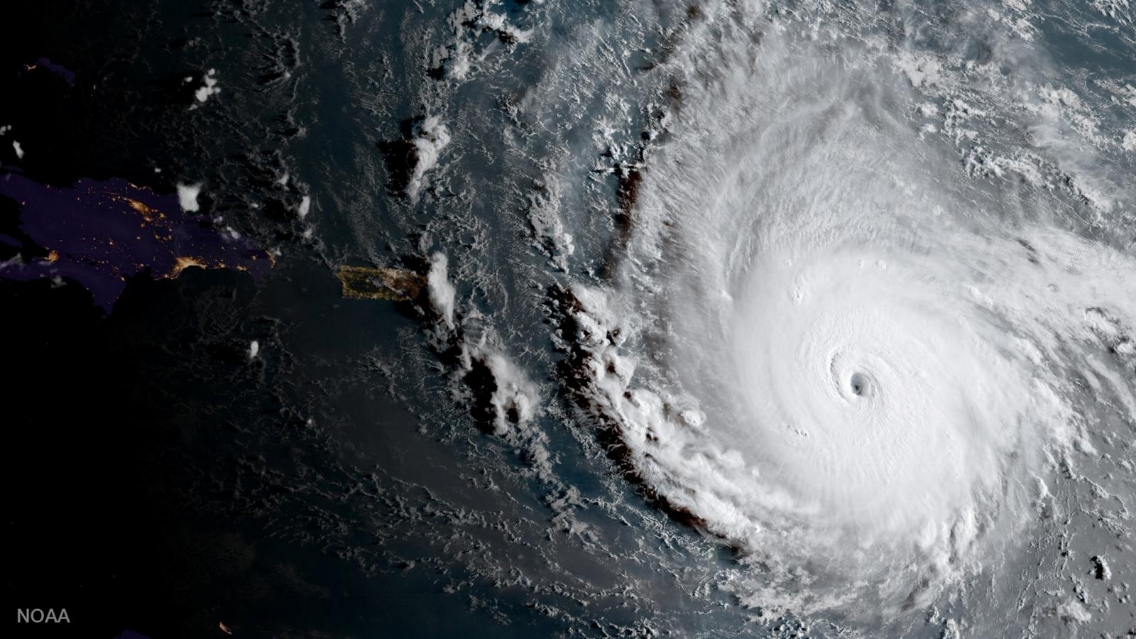 Hurricane Irma from ISS