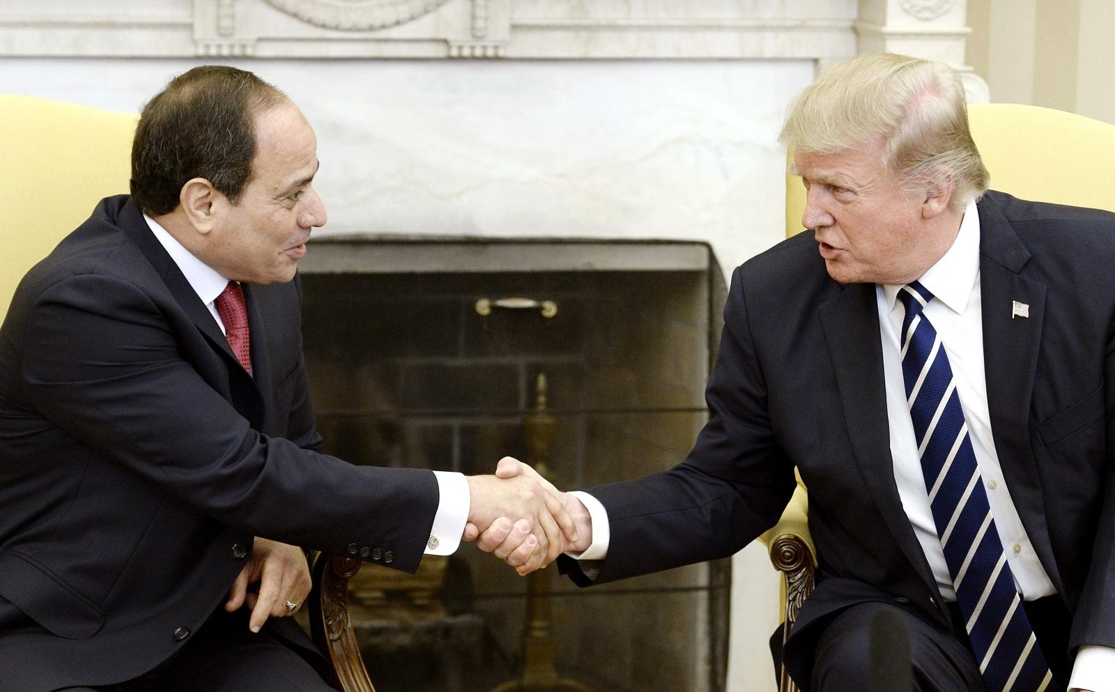 Abdel-Fattah El-Sissi Donald Trump