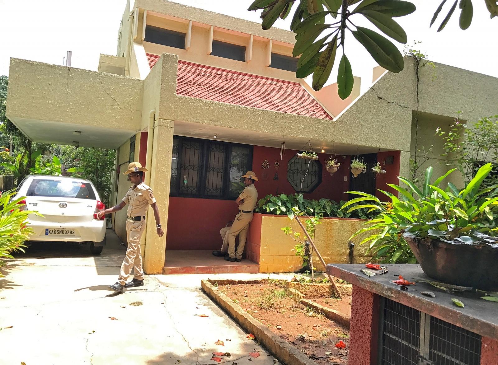 India journalist Gauri Lankesh shot dead
