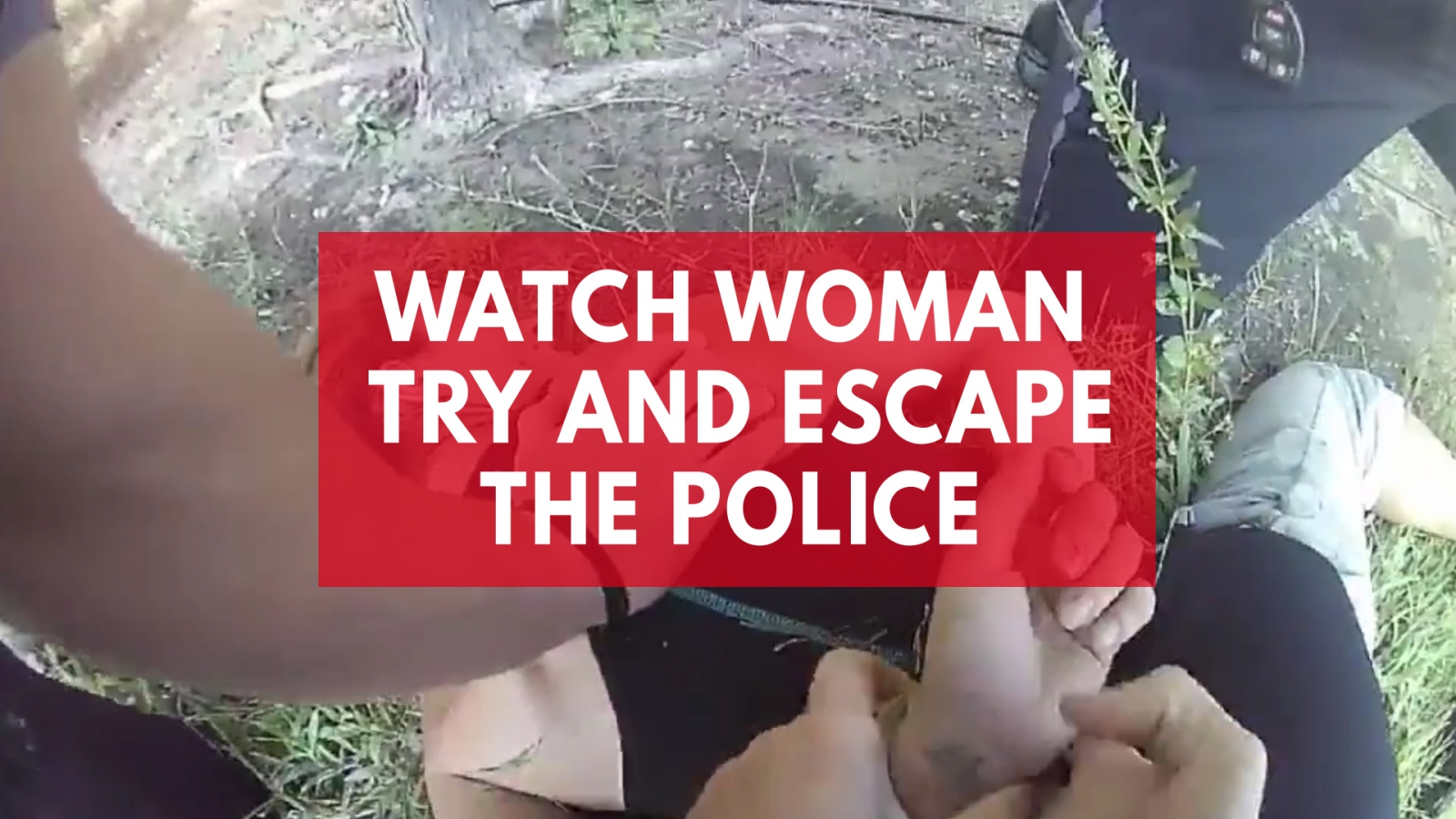 watch-arrested-womans-daring-escape-as-she-slips-handcuffs-and-steals-police-car