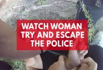 Watch Arrested Woman's Daring Escape As She Slips Handcuffs And Steals Police Car