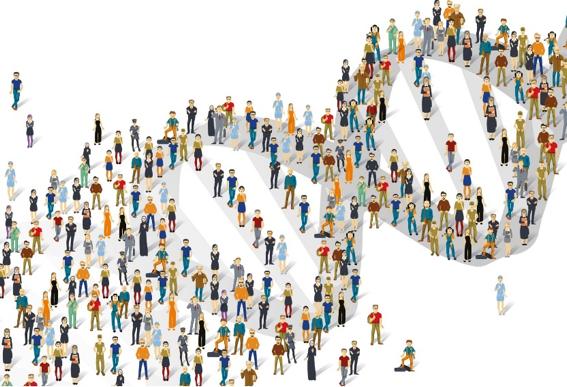Human Genome Illustration