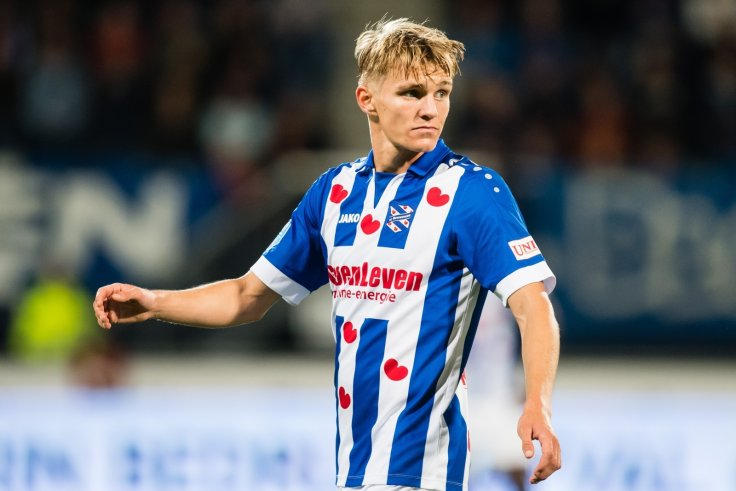 e96ed91ad Martin Odegaard was sent on loan to Heerenveen in January 2017. Getty. Real  Madrid ...