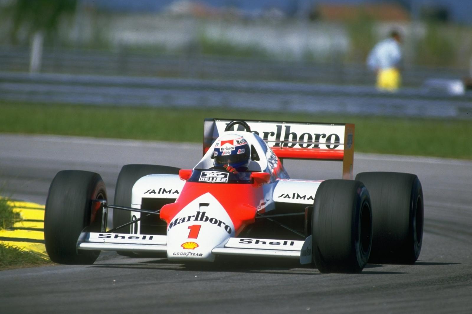 Alain Prost McLaren