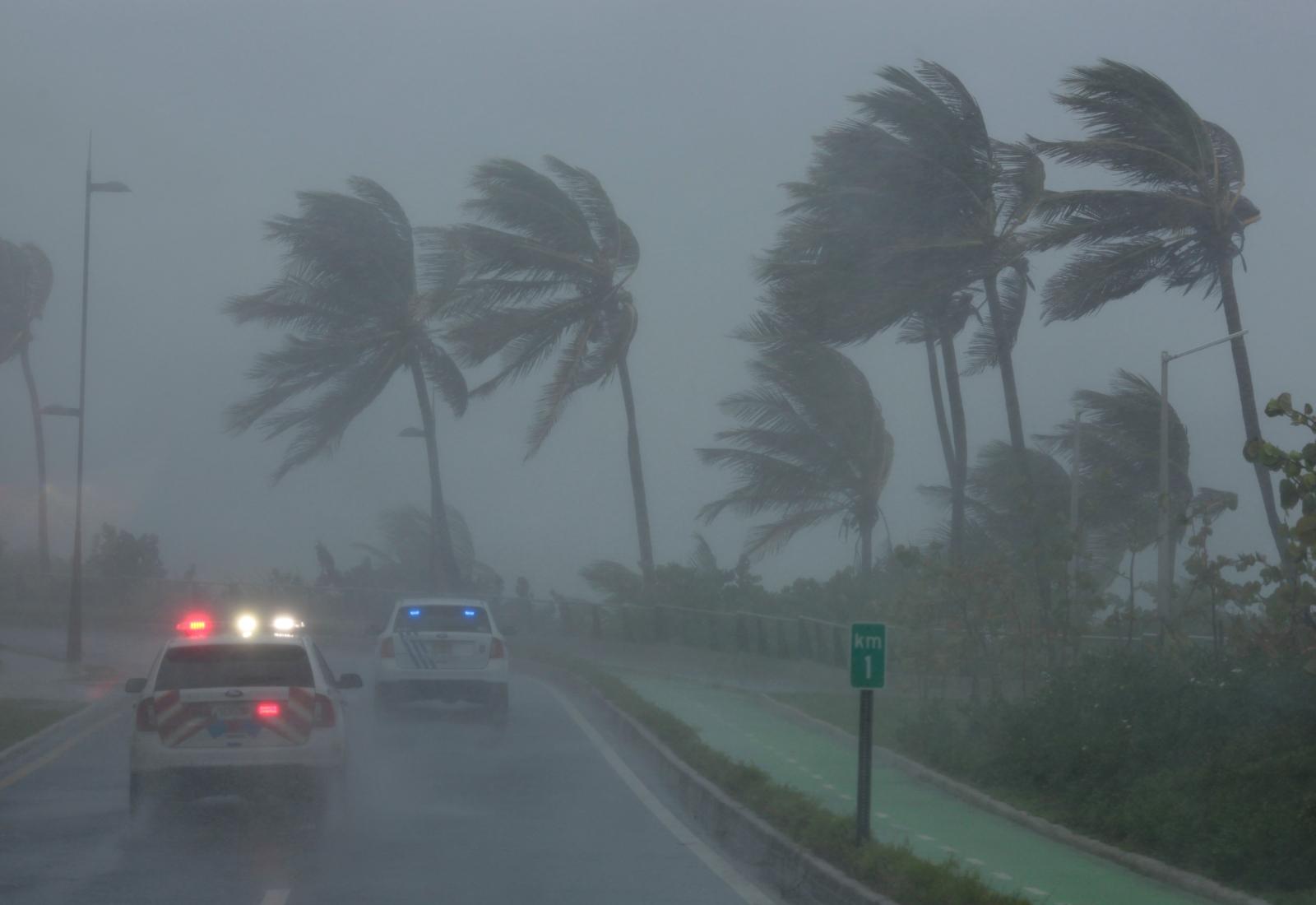 Hurricane Irma Hits Caribbean