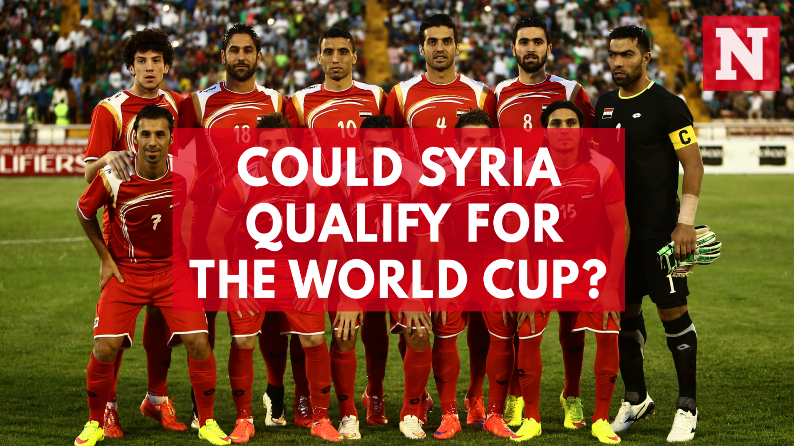 Could Syria Qualify For The World Cup?