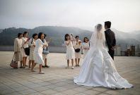 Mass wedding Moonie church Korea