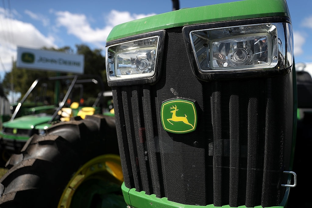 Deere To Buy Blue River Technology For $305 Mln