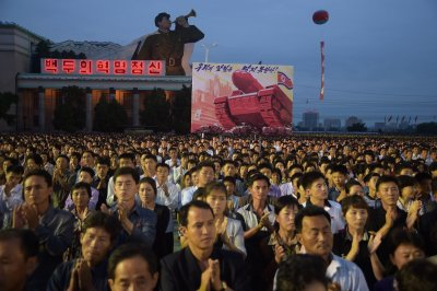 North Korea nuclear test celebrations