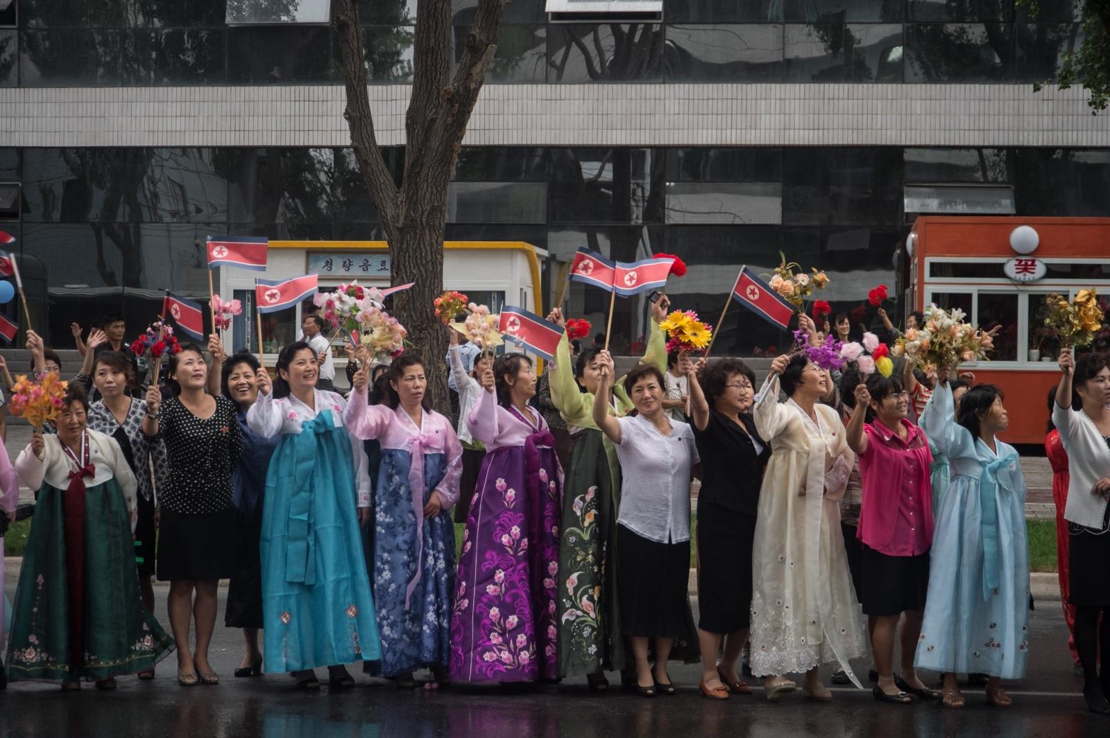 North Korea nuclear test celebrations