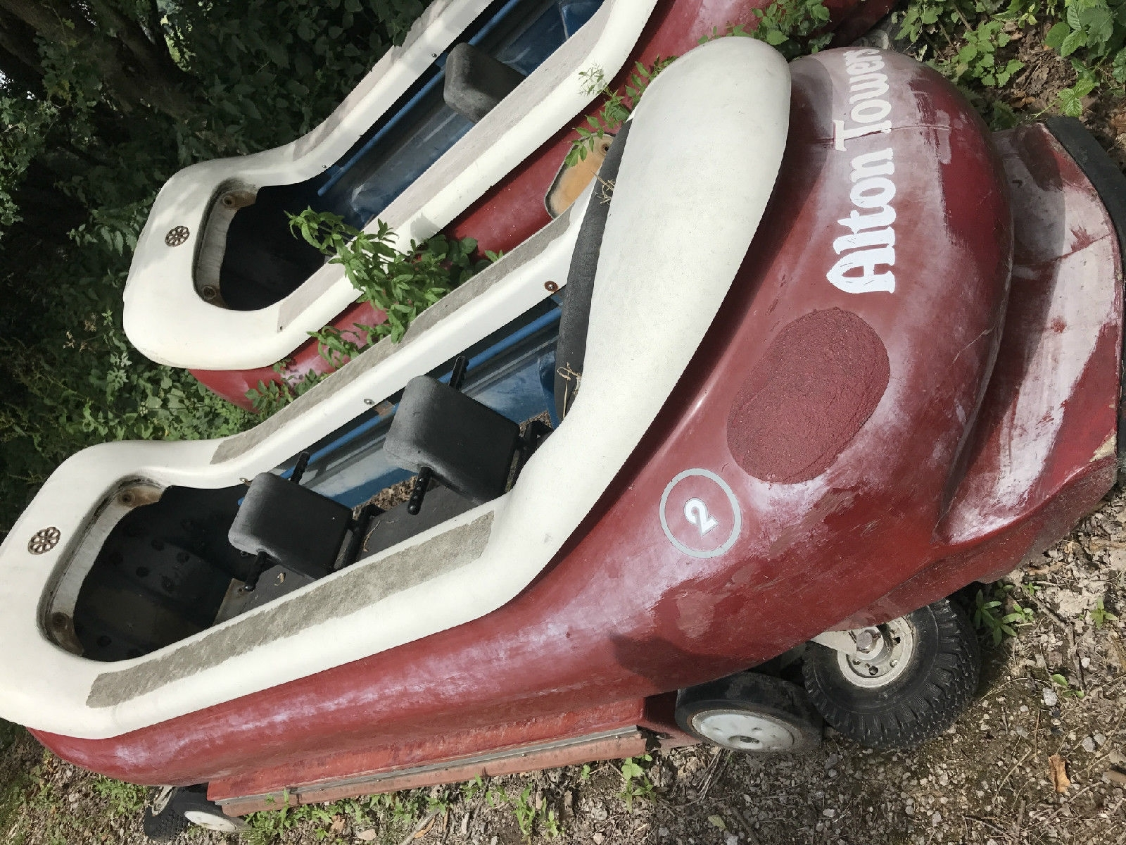 Alton Towers log flume eBay