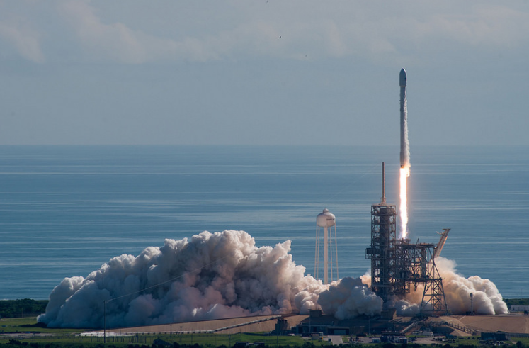 SpaceX launches hush-hush space plane (probably)