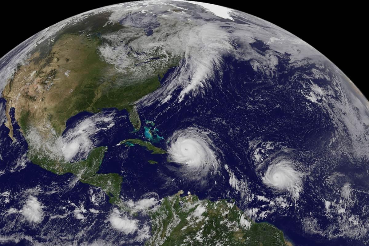 Hurricanes Irma Katia And Jose This Is How The 3 Massive