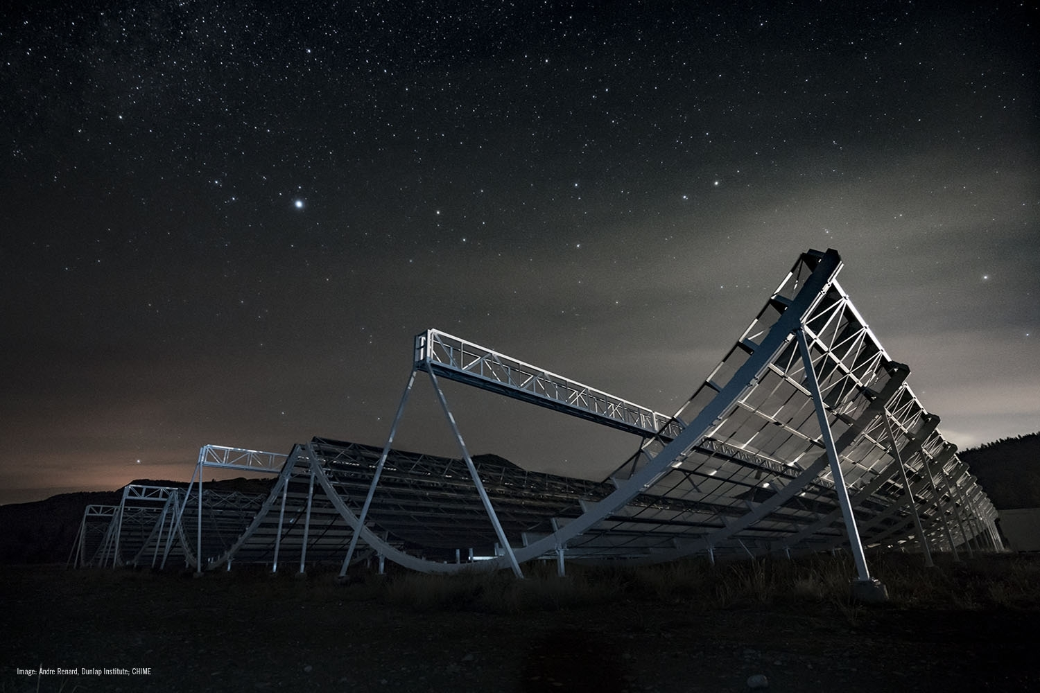 Canada's largest radio telescope Chime starts mapping the universe