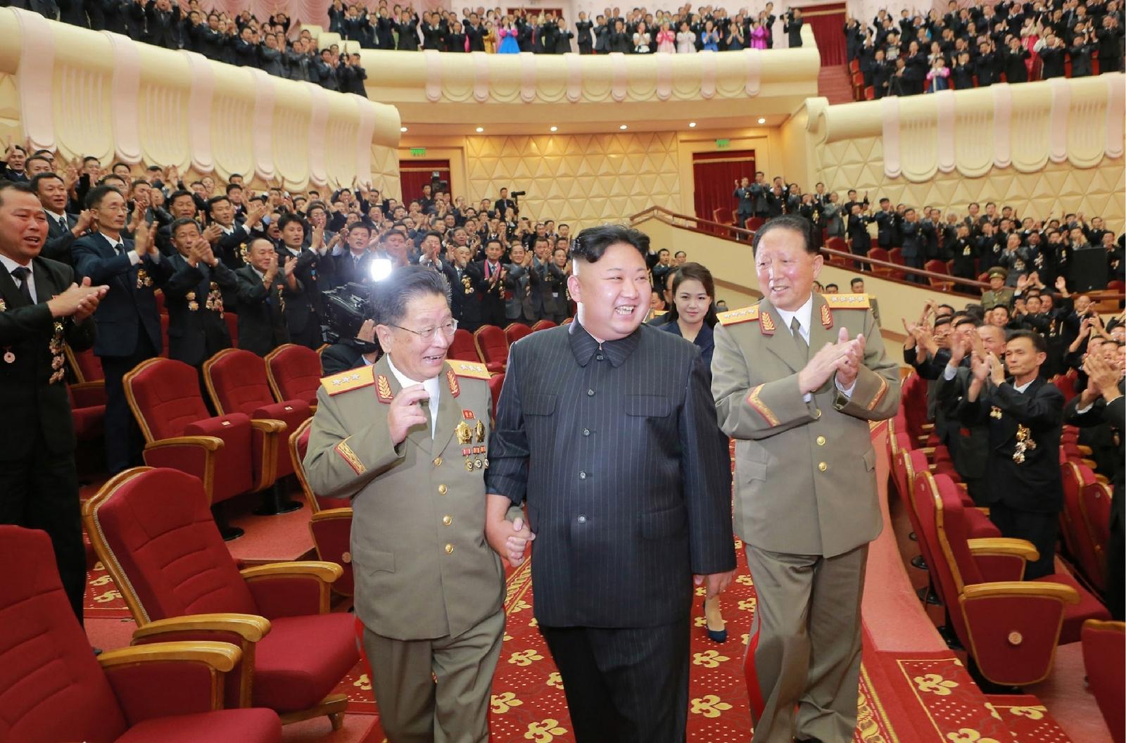 Kim Jong-un nuclear celebration
