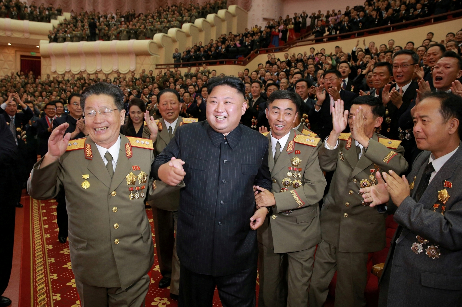 US plans cyberwar as Kim Jong-un celebrates missile tests