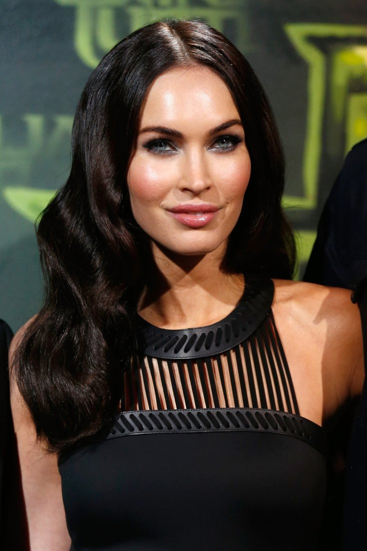 Megan Fox Teases Cleavage In Sizzling See-Through Gown As -6986