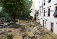 Flooding in Leghorn italy