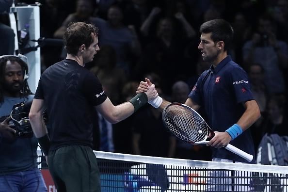 Murray and Djokovic