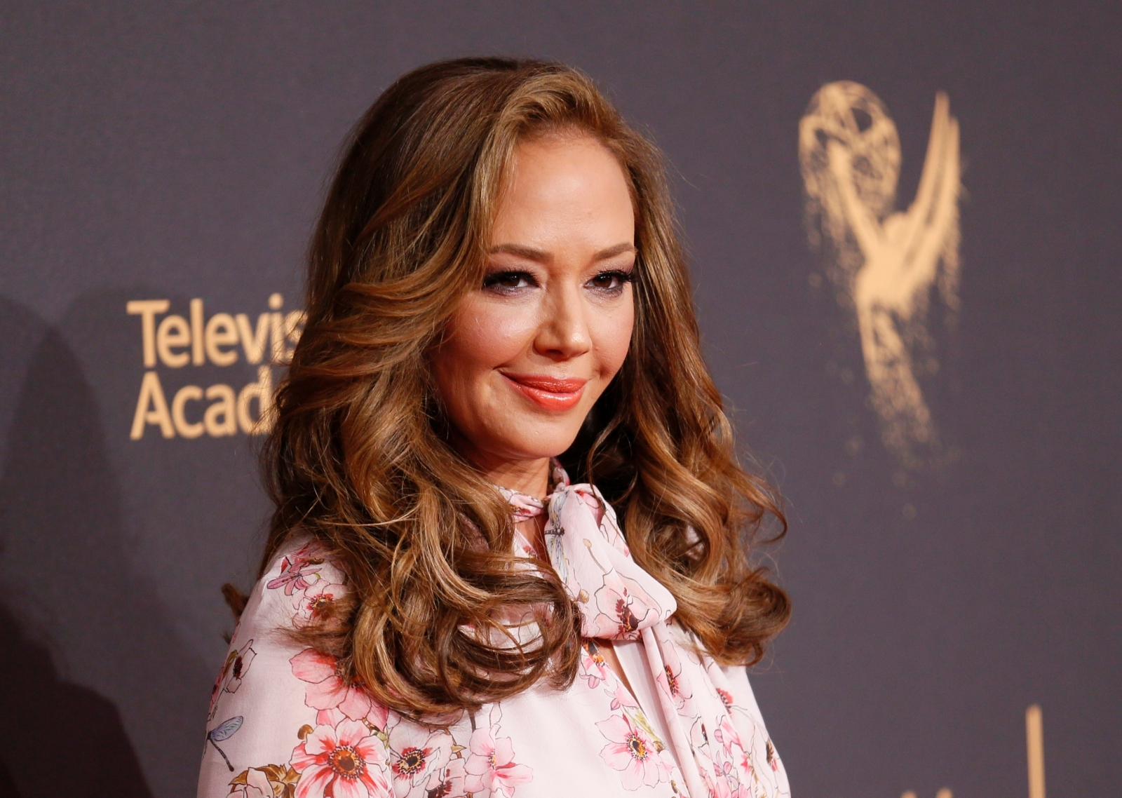 Leah Remini at the 2017 Creative Arts Emmy Awards in Los Angeles, California on 9 September 2017