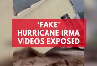 'Fake' Hurricane Irma Videos Widely Shared On Social Media