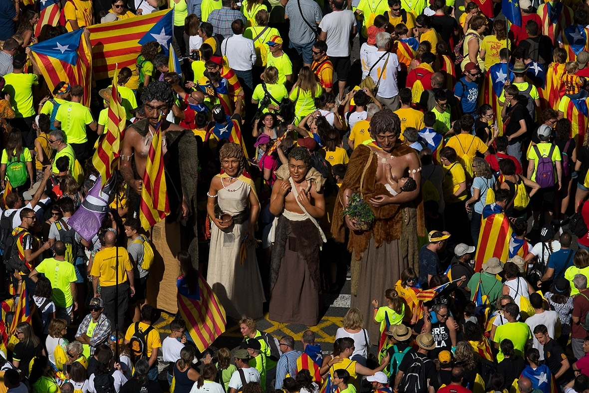 Catalonia independence Diada de Catalunya