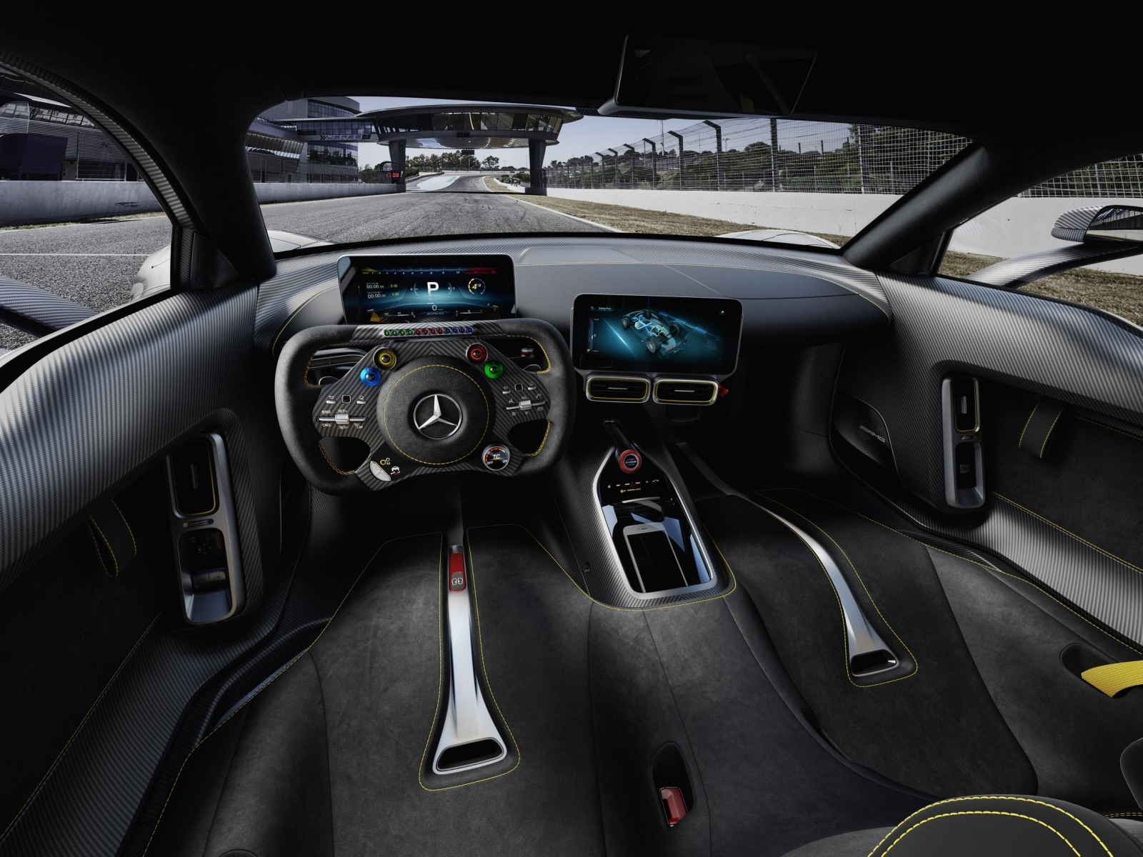 Mercedes-AMG Project One interior