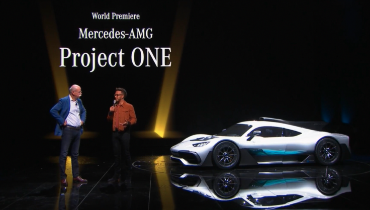 Mercedes-AMG Project One with Lewis Hamilton