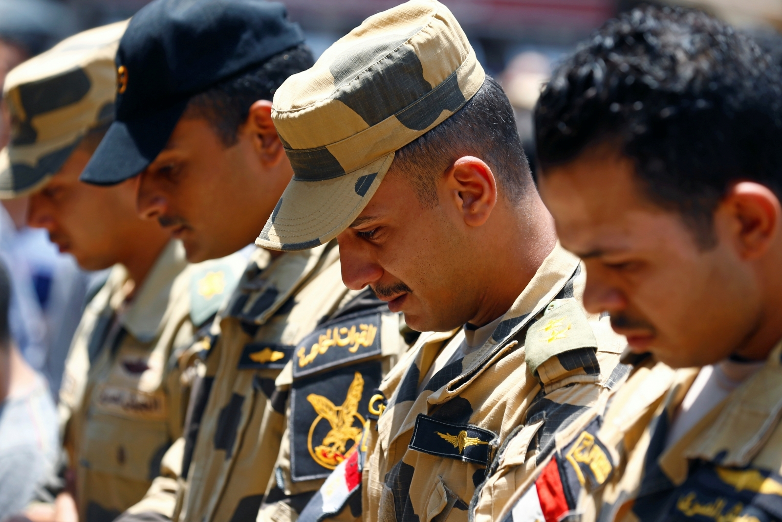 Egypt soldiers