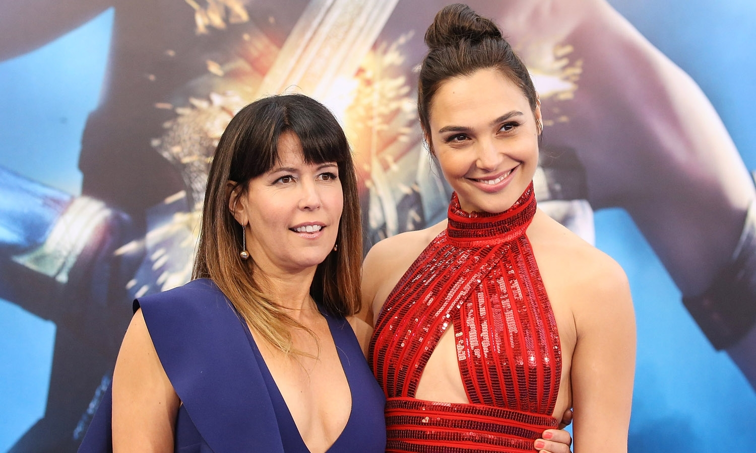 Patty Jenkins Gal Gadot Wonder Woman