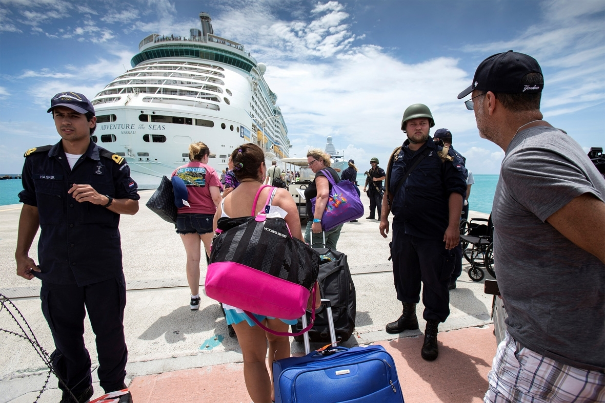 Hurricane Irma Caribbean response