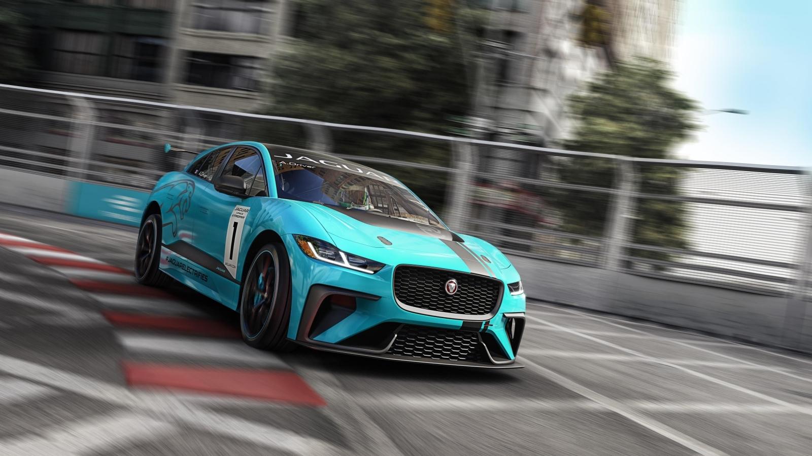Jaguar I-Pace race car