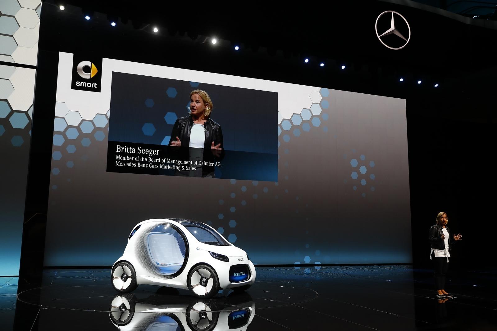 Smart electric car