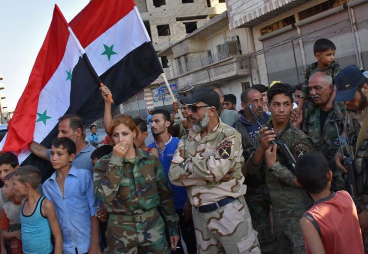 Issam Zahreddine Syrian Republican Guard Isis