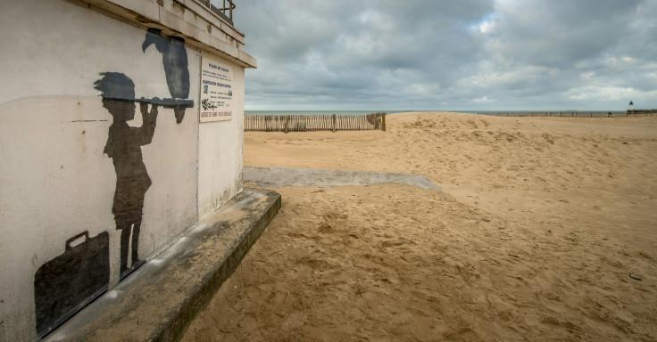 Banksy Calais jungle