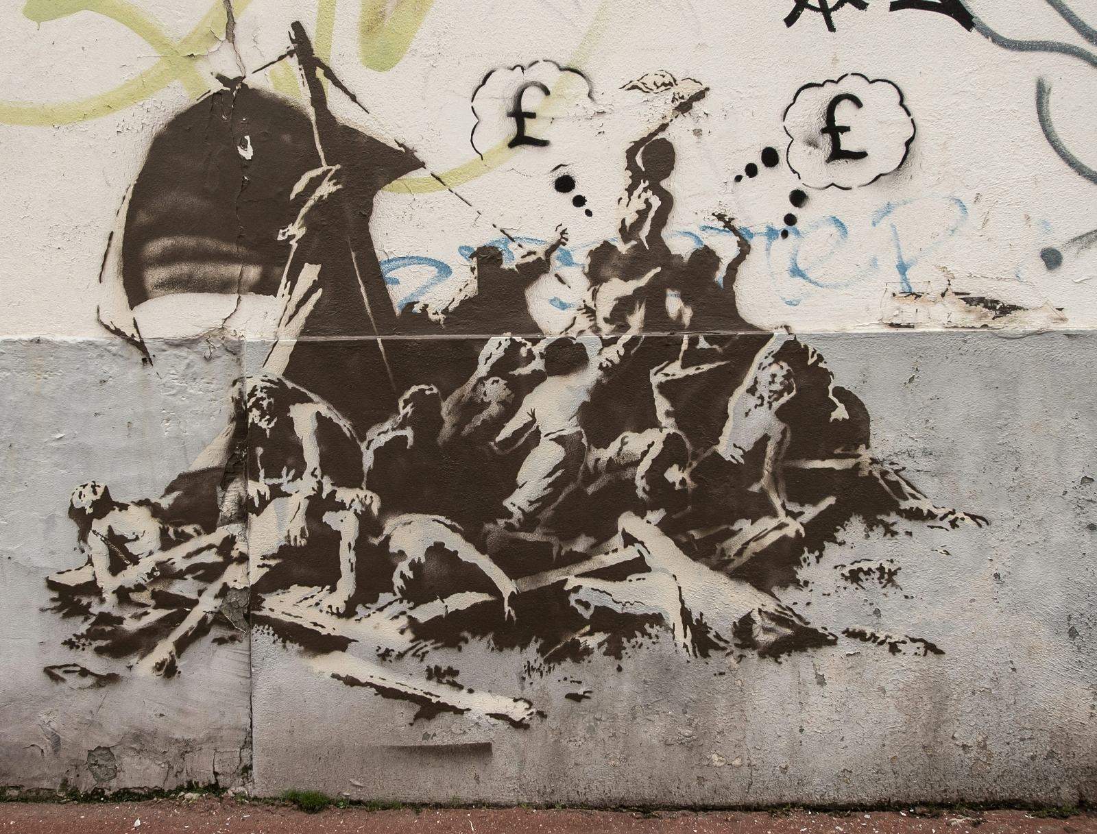 Banksy Calais jungle