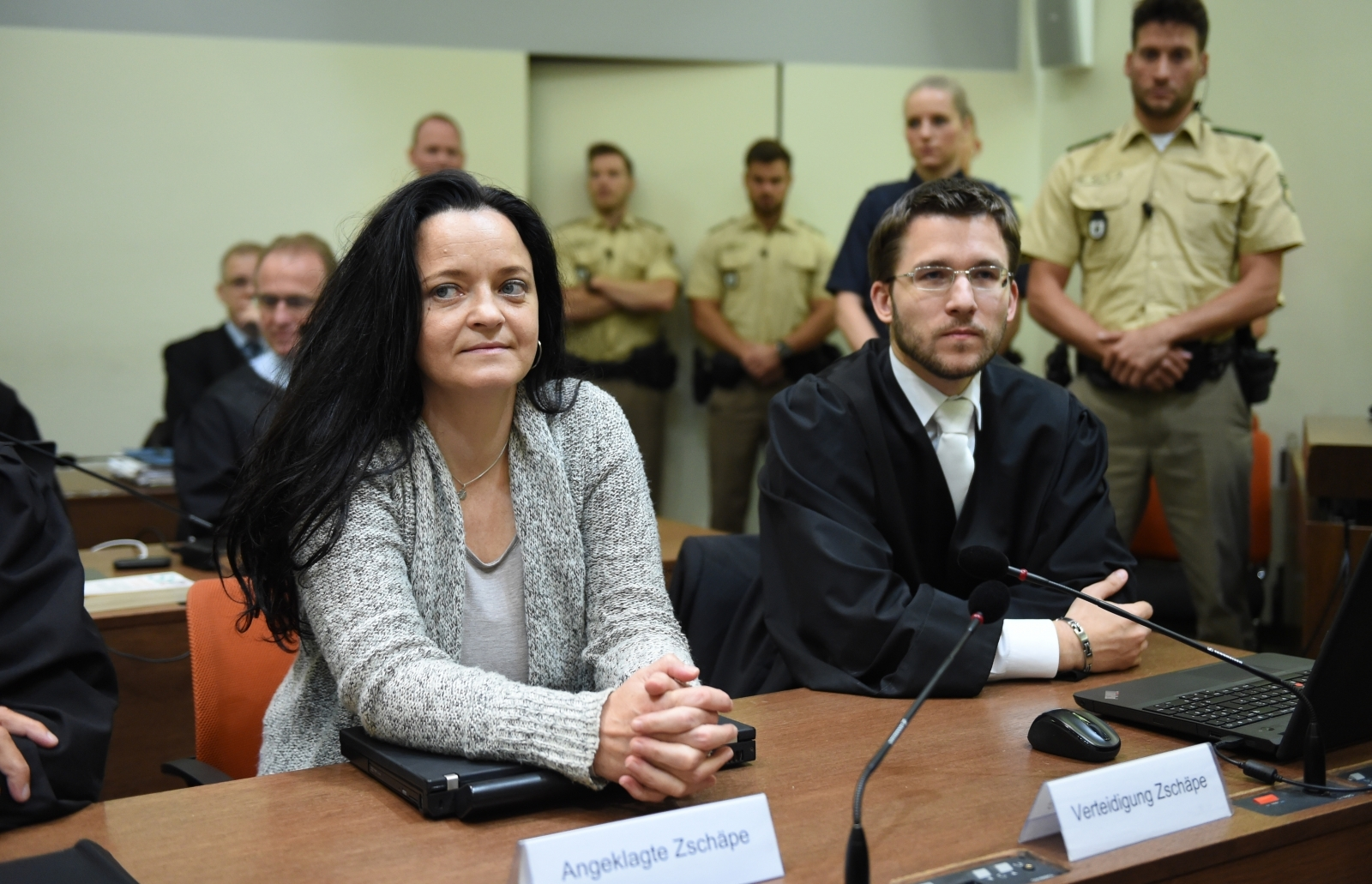 Beate Zschäpe is accused of 10 killings, as well as a series of bombings and robberies, as part of a neo-Nazi gang