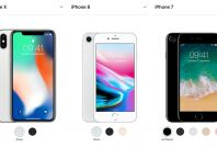 iPhone X vs iPhone 8 vs iPhone7