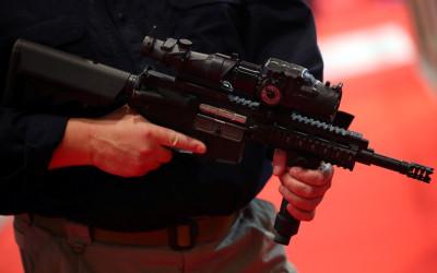 Arms fair London Defence Security Equipment international DSEi