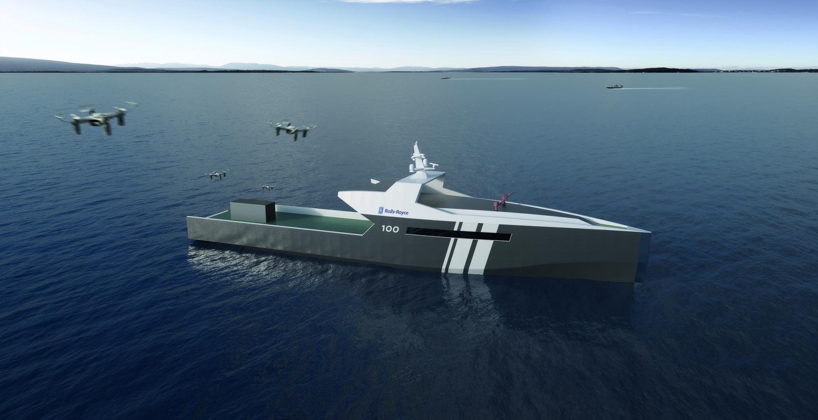 Rolls-Royce ship