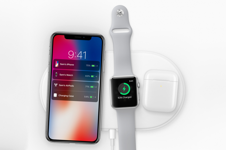 Apple AirPower iPhone X